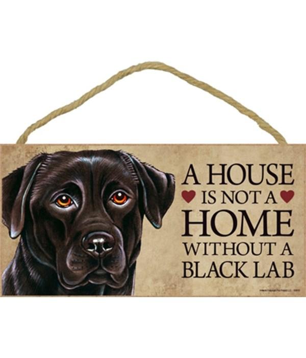Black Lab House 5x10