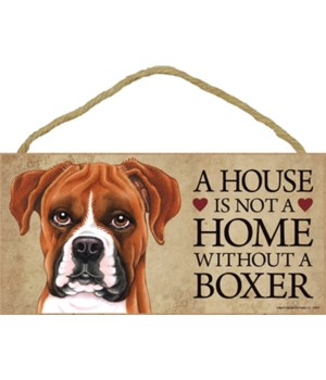 Boxer (dropped ears) House 5x10