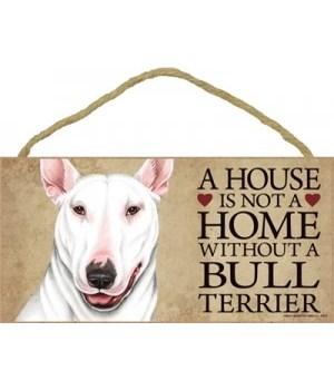 Bull Terrier (White color) House 5x10