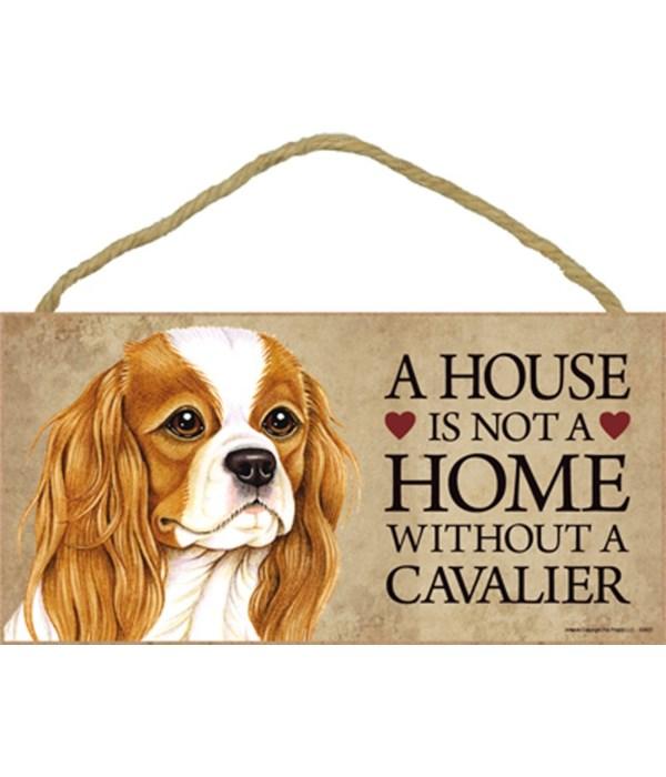Cavalier (King Charles Spaniel) House 5x