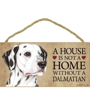 Dalmatian House 5x10