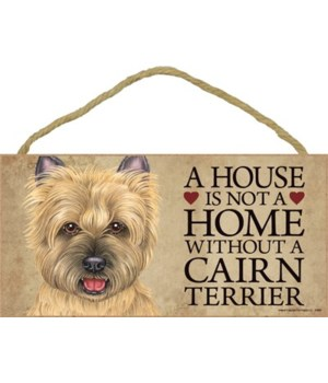 Cairn Terrier (tan) House 5x10