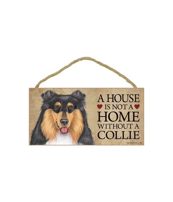 Collie (tri-colored) House 5x10