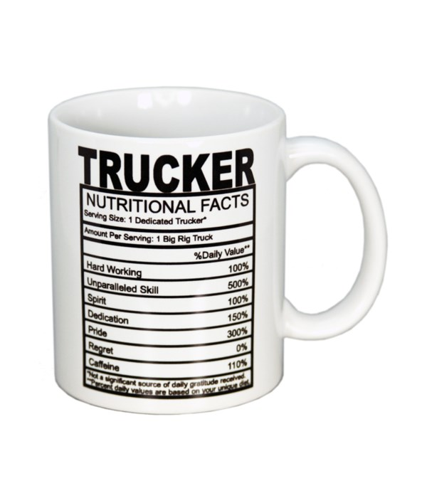 Trucker Nutritional Mug 11oz (36MIN)