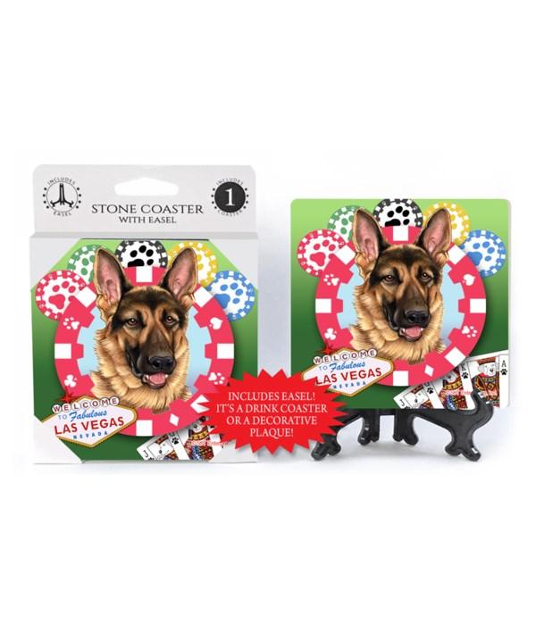 Basset Hound - Vegas Dog Coaster