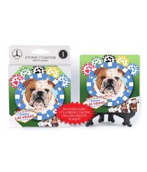 Bulldog - Vegas Dog Coaster