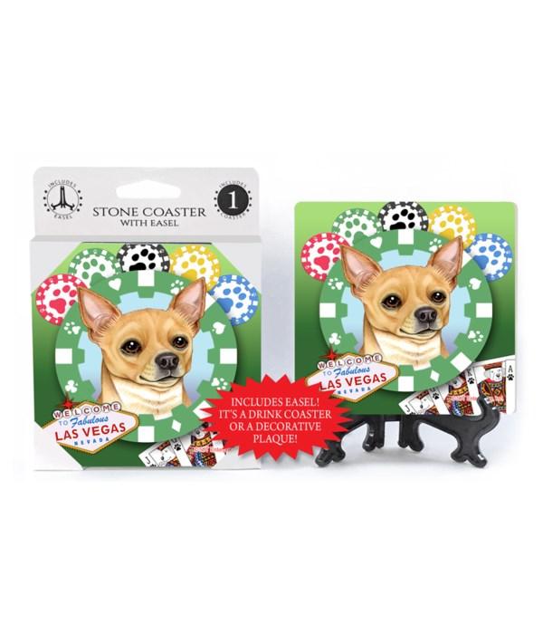 Chihuahua (tan) - Vegas Dog Coaster