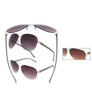Women's VOX Fashion Sunglass/Rhinestones