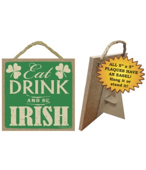 Eat, Drink, and Be Irish
