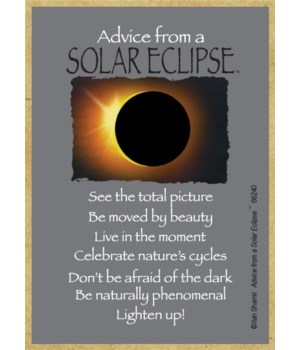 Advice from a Solar Eclipse Magnet