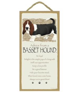 Advice from a Basset Hound 5x10