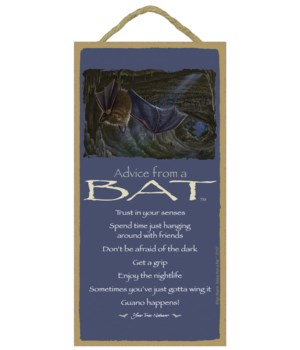 Advice from a Bat 5x10