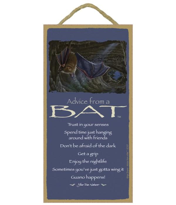 Advice from a Bat 5x10