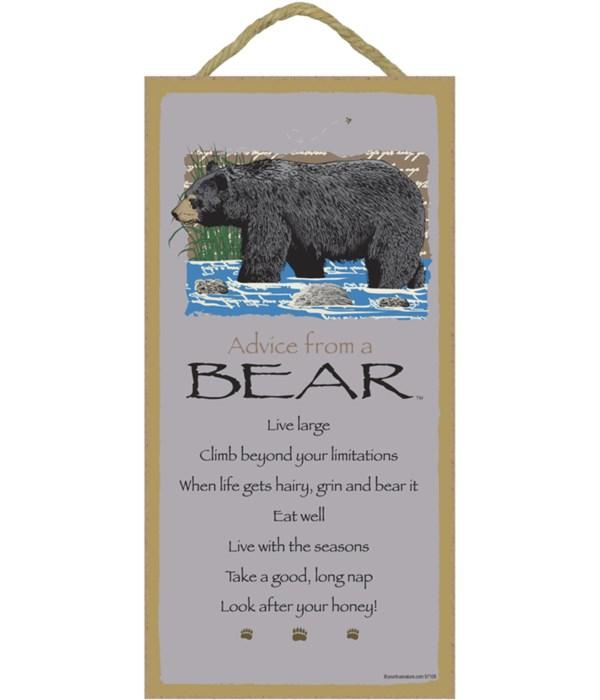 Advice from a Bear 5x10