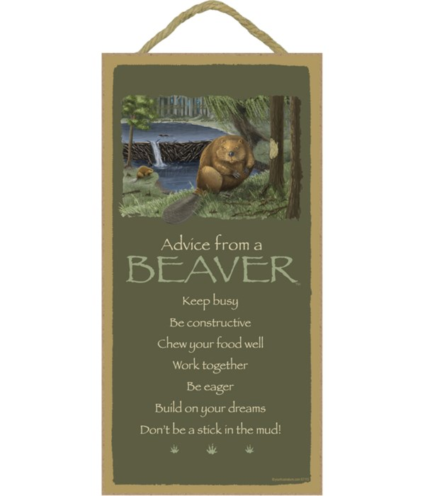 Advice from a Beaver 5x10