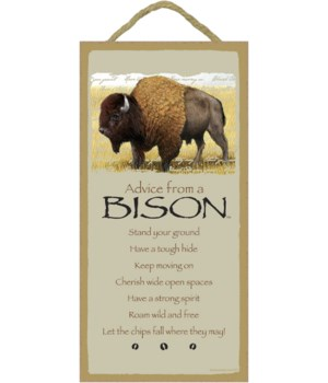 Advice from a Bison 5x10