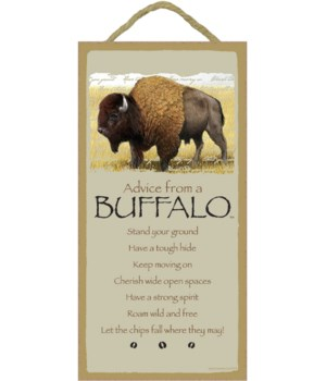 Advice from a Buffalo 5x10