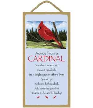 Advice from a Cardinal 5x10