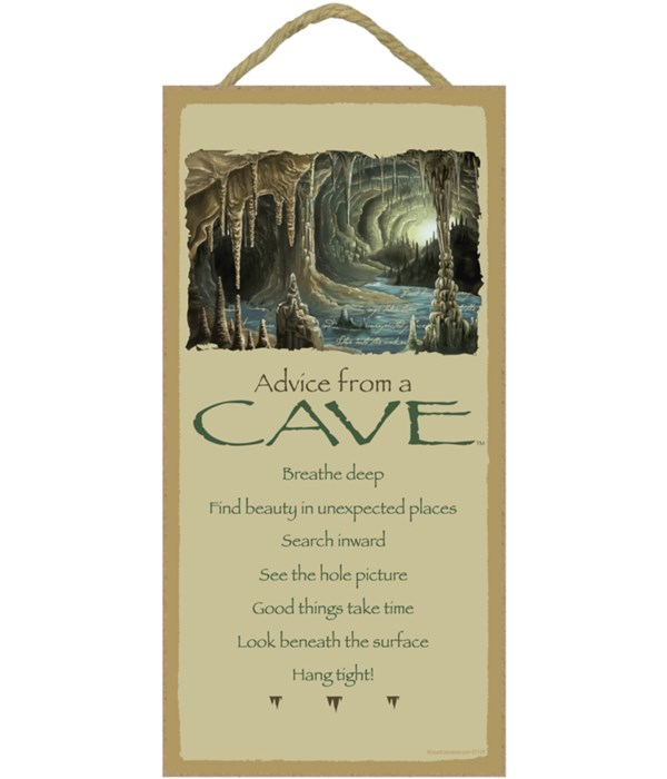 Advice from a Cave 5x10