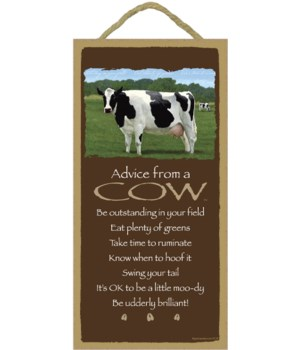 Advice from a Cow 5x10