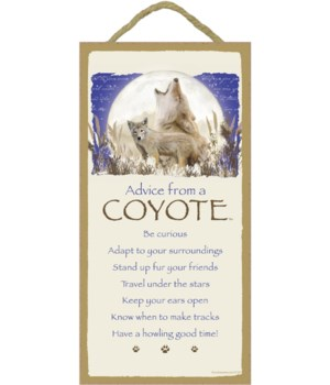 Advice from a Coyote 5x10