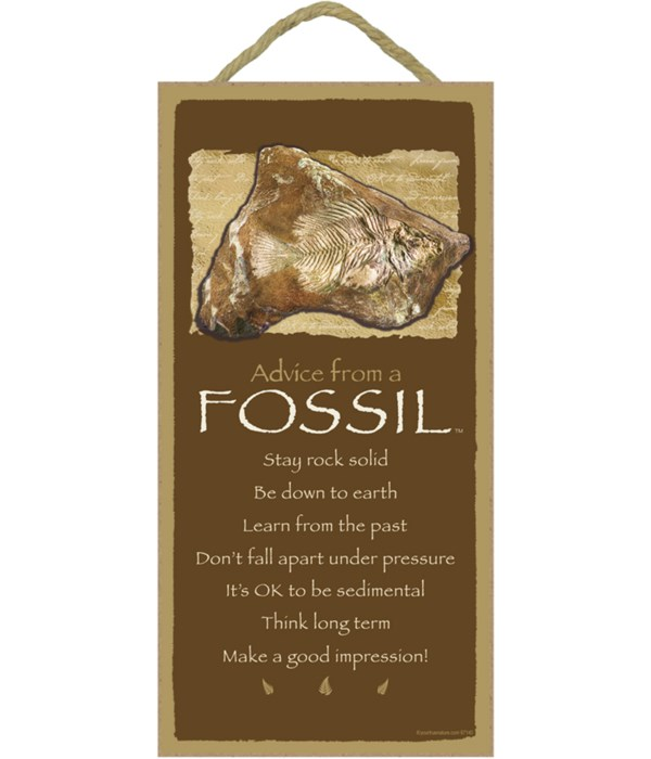 *Advice from a Fossil 5x10