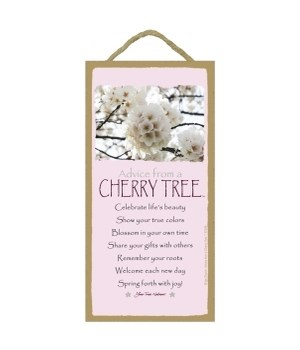 Advice from a Cherry Tree 5x10