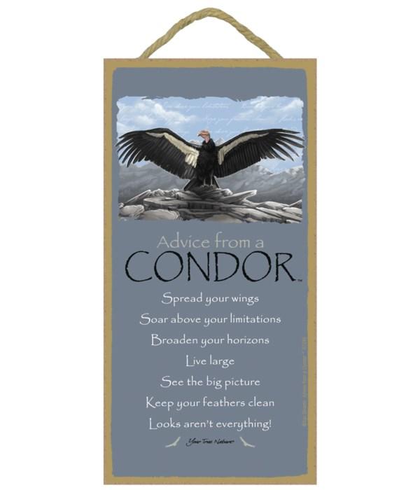 Advice from a Condor 5x10