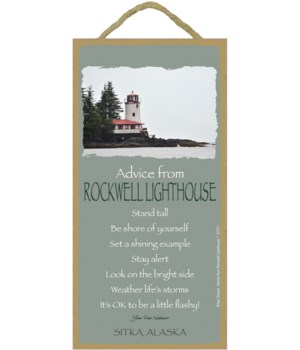 Rockwell Advice Plaque 5x10