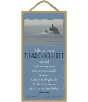Tillamook Advice Plaque 5x10