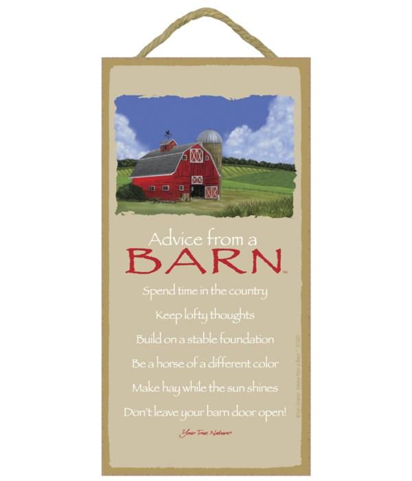 Advice from a Barn 5x10