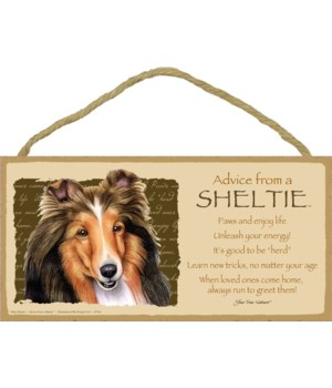 Advice from a Sheltie 5x10