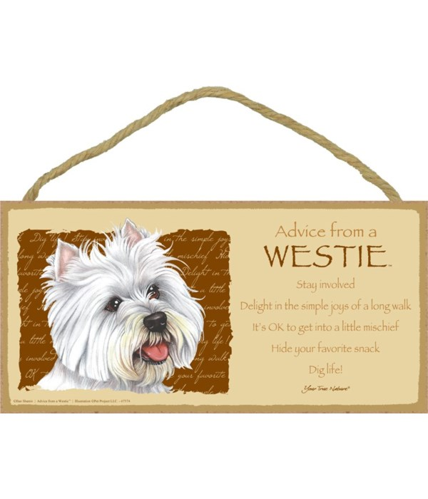 Advice from a Westie 5x10