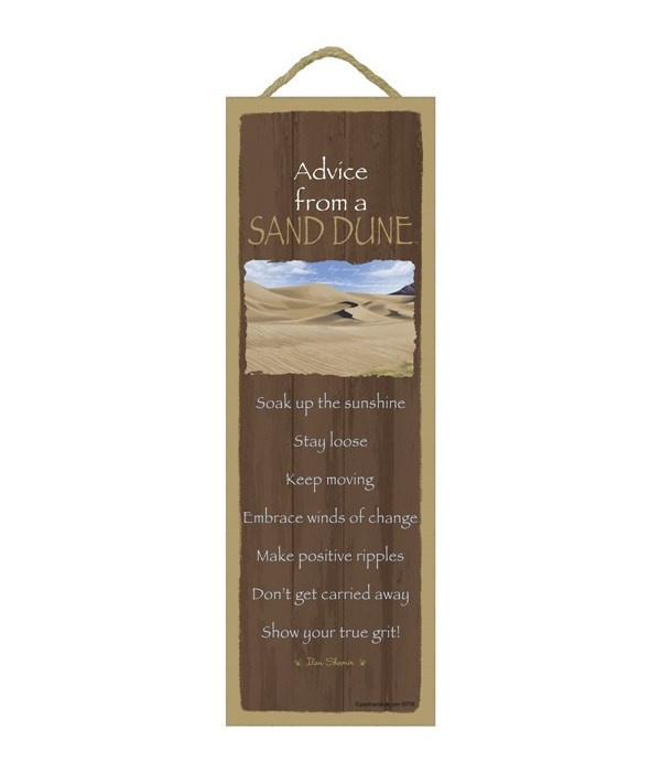 Advice from a Sand Dune 5x15
