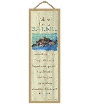 Advice from a Sea Turtle 5x15