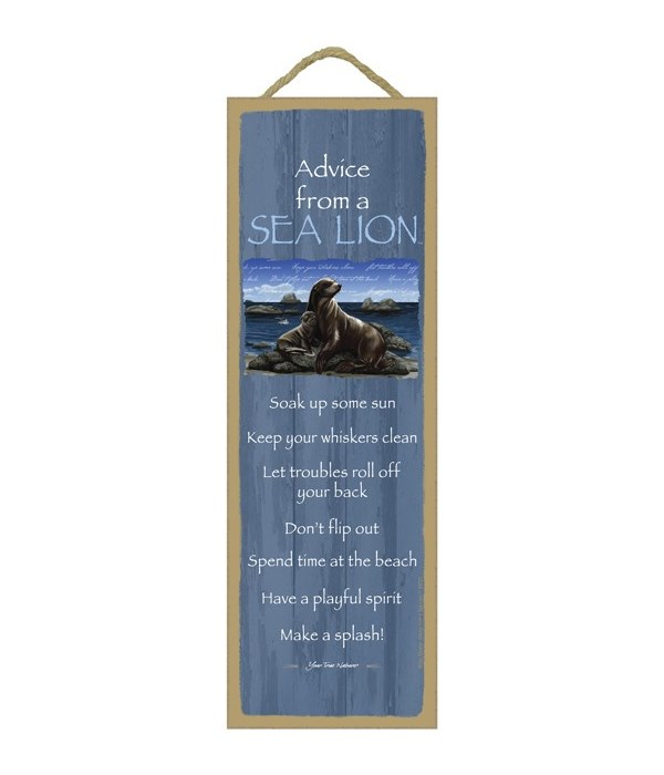 Advice from a Sea Lion 5x15