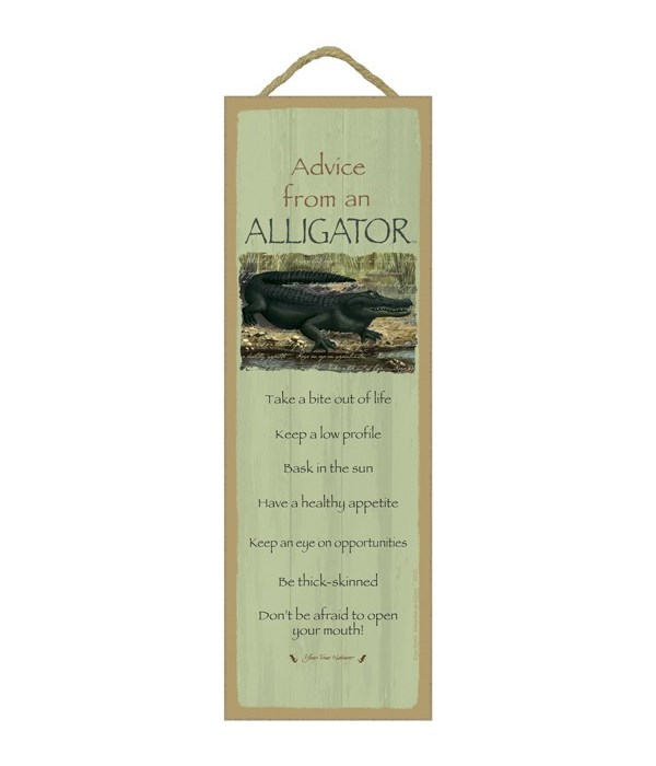 Advice from an Alligator 5x15
