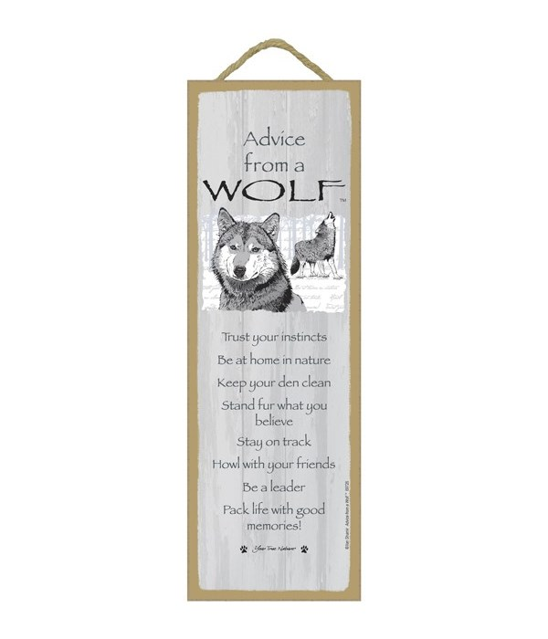 Advice from a Wolf 5x15