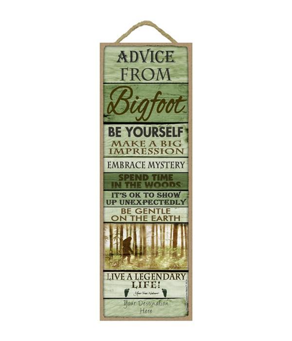 Advice from Bigfoot 5x15 Plank