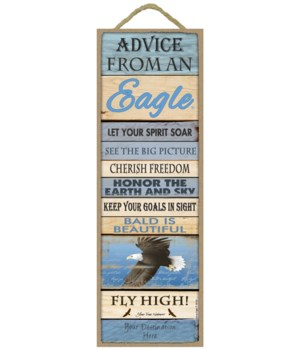 Advice from an Eagle 5x15 Plank