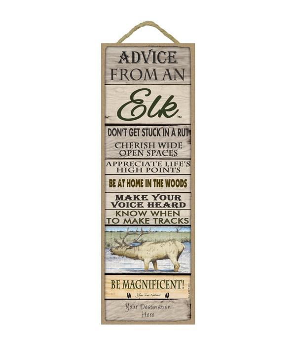 Advice from an Elk 5x15 Plank