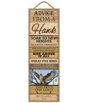 Advice from a Hawk 5x15 Plank