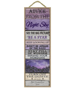 Advice from the Night Sky 5x15 Plank