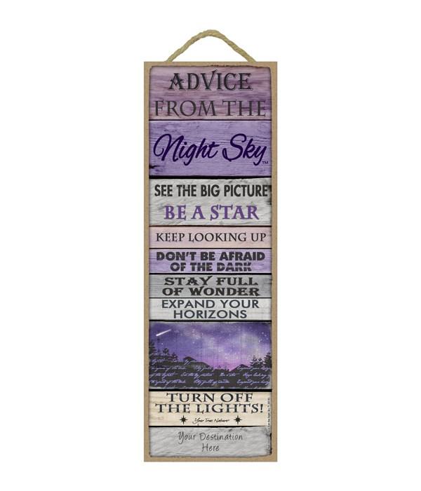 Advice from the Night Sky 5x15 Plank