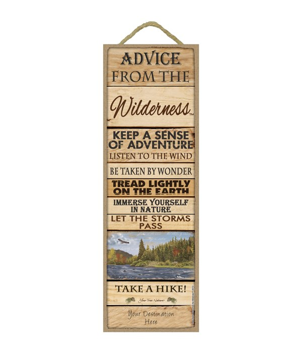 Advice from the Wilderness 5x15 Plank