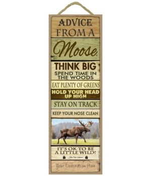 Advice from a Moose 5x15 Plank