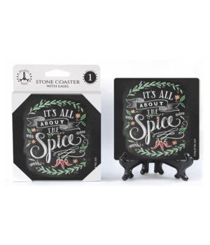 It's all about the spice  coaster 1-pack