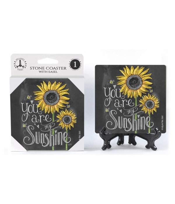 You are my sunshine  coaster 1-pack