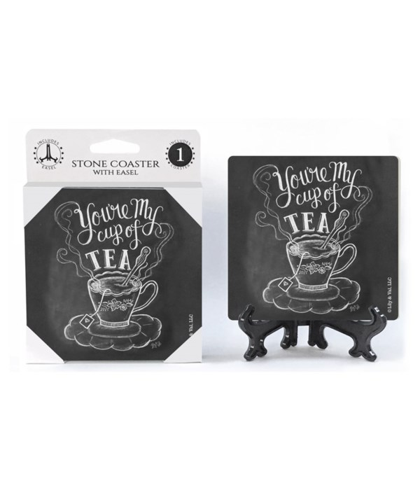 You're my cup of tea  coaster 1-pack