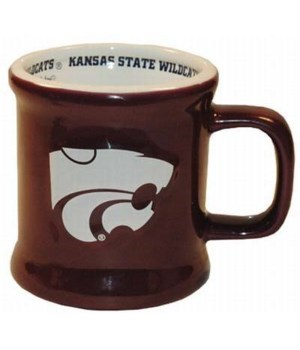 KS-S Mug Ceramic Relief Logo 10oz